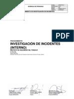 PER DOC 2 PROCEDIMIENTO DE INVESTIGACIÓN DE INCIDENTES