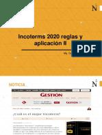 imcoterms 2020 aplicacion