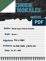 ACCIONES MORALES guia 3
