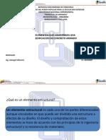 tema 1.2 elementos que conforman una edificacion de concreto armado