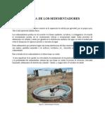 LUDEÑA - TEORIA DE SEDIMENTADORES