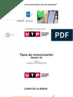 S12. s24 - Tipos de Comunicación