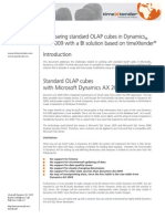 Comparing Standard OLAP Cubes in Dynamics AX_WhitePaper_timeXtender_oct09