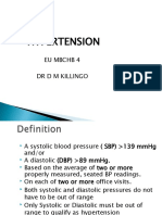 HYPERTENSION -LECTURE