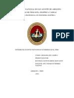 INFORME DE EVENTOS TECTONICOS EN EL PERU - BUSTINZA JACINTO ERICK