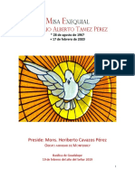 PMarioTamez Misa Exequial 19feb2020