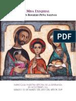 Misa Exequial Sr. Rogelio Peña Jul 2019