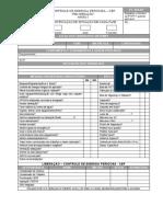 PIC- Padrão Interno de Controle - Formulário