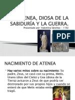 ATENEA, DIOSA DE LA SABIDURIA