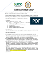 Formato elaboración informe final del proyecto