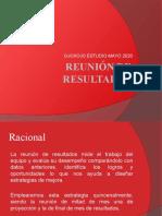 Reunión de resultados Mayo 2020