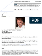 Diary of a Mad Hedge Fund Trader » January 10, 2011 – The Mad Hedge Fund Trader Interviews Charles Nenner in 2011