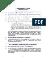 FAQ_Architecture