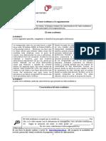 El texto académico argumentativo (material)