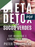 Dieta Detox com Sucos Verdes