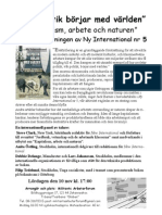 Militants Arbetarforum 10 november 2007
