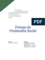 Trabajo de Formas de Produccion Social