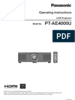 Projector Manual 5240