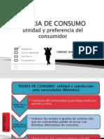 TEORIA DE CONSUMO