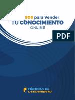 Pasos para Vender tu Conocimiento en Línea.pdf