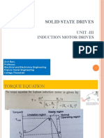Control of Indution motor Drvies