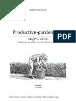 Productive-garden Blog Posts 2010