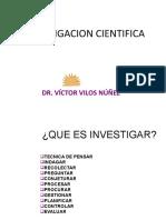 1 - CLASE INVESTIGACION CIENTIFICA