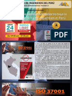 BROCHURE DEL EVENTO - ISO 37001 HUÁNUCO