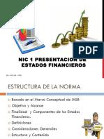 NIC-1 PRESENTACIÓN DE ESTADOS FINANCIEROS (2)