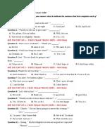 34 bài tập giao tiếp - THẦY PHẠM TRỌNG HIẾU – HOCMAI