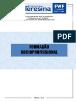 Apostila de Formação SOCIOPROFISSIONAL