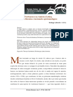 Neobarroco A.Latina_incomodos epistemologicos