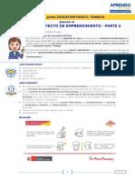 SEMANA 10 - Guia - Mi primer proyecto de emprendimiento II 3°-5°.pdf