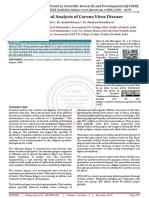 Mathematical Analysis of Corona Virus Disease