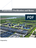 water Wastewater purification and reuse