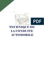 Technique de La Conduite Automobile