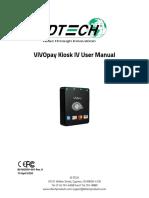 Kiosk IV User Manual