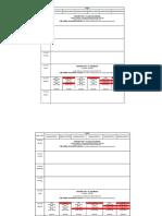 Panini Time Table 08 June 2020 13 June 2020