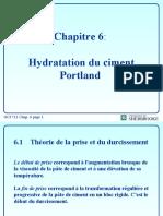 Hydratation du ciment Portland