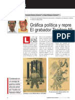Gráfica política y represión franquista