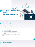 HBS article_The process of strategy definition and implementation