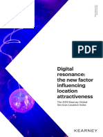 Digital resonance the new factor influencing location attractiveness