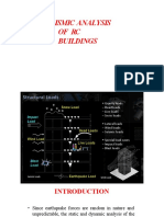 Final PPT on Sesmic Analysis