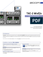 zoom tac mixer manuale