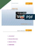 Curso Simulaciones Monte Carlo SegundaParte