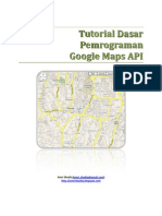 Tutorial Dasar Pemrograman Google Maps API