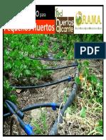 Curso Riego Pequec3b1os Huertos Red de Huertos