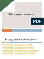Tehnoligia_client-server