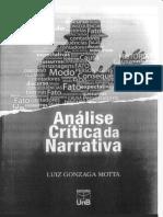 Análise Crítica da Narrativa - Luiz Gonzaga Motta