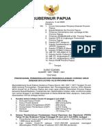 SURAT EDARAN GUBERNUR PAPUA - TGL 3 JULI 2020
